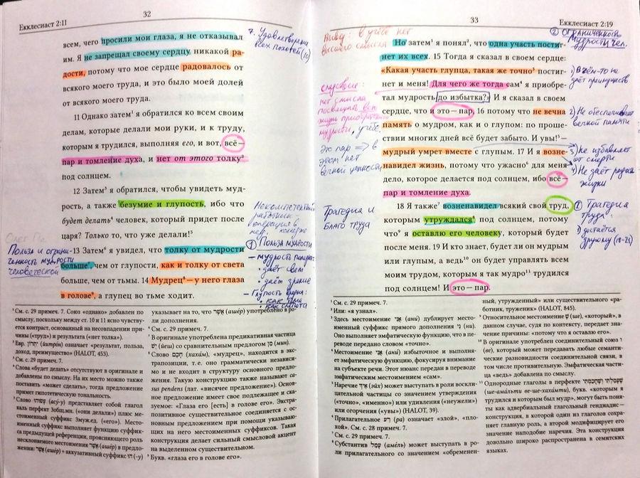 Как изучать Библию с новым изданием Екклесиаста